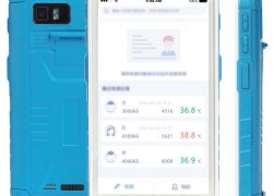 HC500DUT Android Ateş Ölçer – Antibakteriyel El Terminali (UHF RFID & 2D Barkod Okuyuculu) IP65
